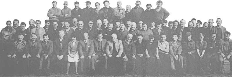 Westport Railway Workshop staff